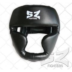 Протектор за глава / Каска SZ Fighters черна със скули