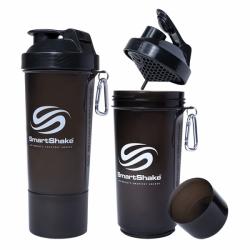 Smart Shake - Slim Gunsmoke Black 600ml.